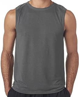 Mens Moisture-Wicking Muscle Tank Top Shirt