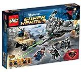 LEGO 76003 76003 Super Heroes DC Universe, Superman: Schlacht von Smallville Superman kämpft um...