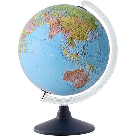 ORBYS 地球儀 英語版 カラーラ7型 球径30cm 行政図 43631