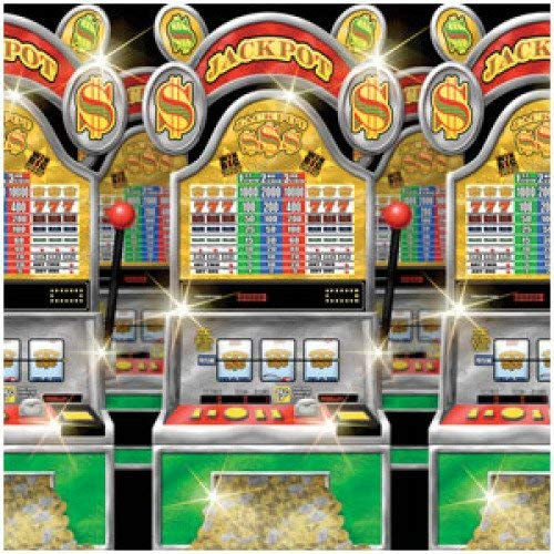 Amscan International Scene Set Rol Casino Slot machine