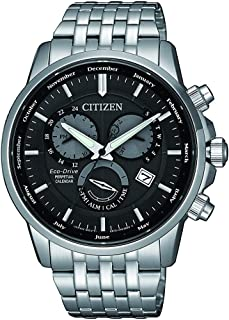 Citizen Mens Solar Powered Watch, Analog Display and Solid Stainless Steel Strap - BL8150-86H