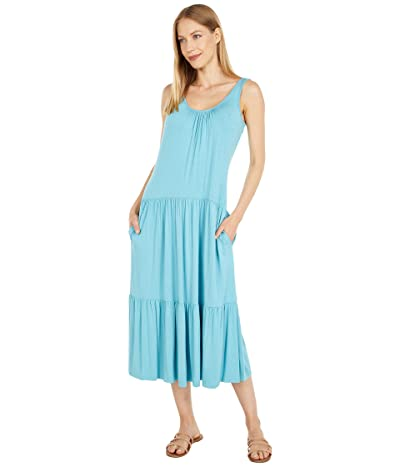 Calvin Klein Sleeveless Tiered Dress