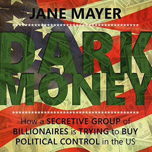 Dark Money audiobook cover art