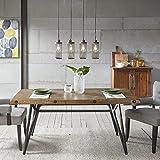 INK+IVY Trestle Dining/Gathering Table Reclaimed Brown/Gun Metal See Below, II121-0118