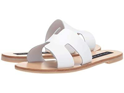 STEVEN NEW YORK Greece Sandal (White Leather 1) Women
