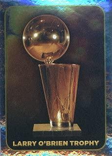 2017-18 Panini NBA Stickers #423 Larry O'Brien Trophy FOIL Basketball Sticker