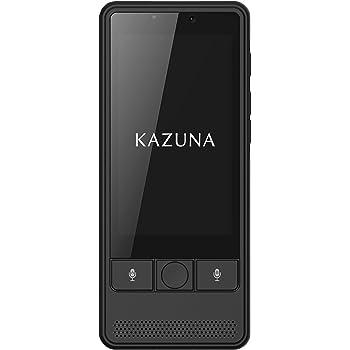KAZUNA 翻訳機 KAZUNA eTalk5(ブラック)2年SIM同梱版TAKUMI JAPAN KAZUNA eTalk5 TKMT1809B1BK_2YSIM