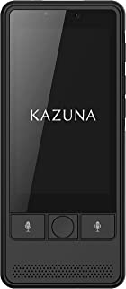 TAKUMI JAPAN 翻訳機+グローバル通信(2年) KAZUNA eTalk 5 ブラック TKMT1809B1BK_2YSIM