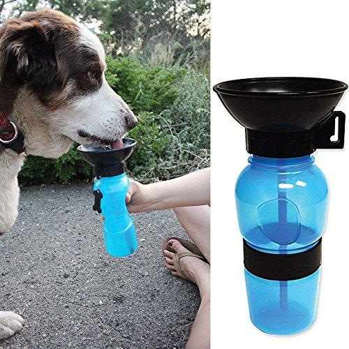 BangBang Nouveau Voyage Bouteille de Sports d'extérieur Fil d'eau Potable Bouteille Pet Supplies Portable pour Votre Chien Mignon