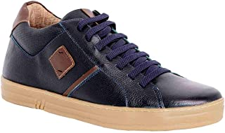 Max Denegri Zapato Deportivo Cover Azul 7cms De Altura