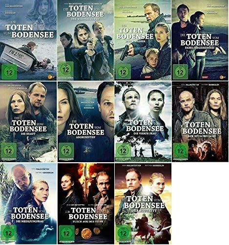 Die Toten vom Bodensee 1-11 / 11er Film Paket u.a. Der Blutritt [DVD Set]