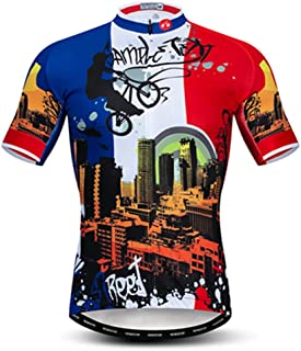 Cycling Jersey Men Mountain Bike Pro Team MTB Short Sleeve Shirts