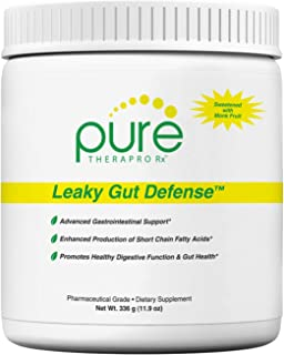 Leaky Gut Defense - 60 Servings | GI Repair | Contains: 3g L-Glutamine, Licorice Root (deglycyrrhized), Aloe Leaf & Arabinogalactan | Stevia-Free - Sweetened with Monk Fruit | Pharmaceutical Grade