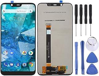 SHUHAN LCD Screen Phone Repair Part LCD Screen and Digitizer Full Assembly for Nokia X7 / 8.1/7.1 Plus TA-1131 Mobile Phon...