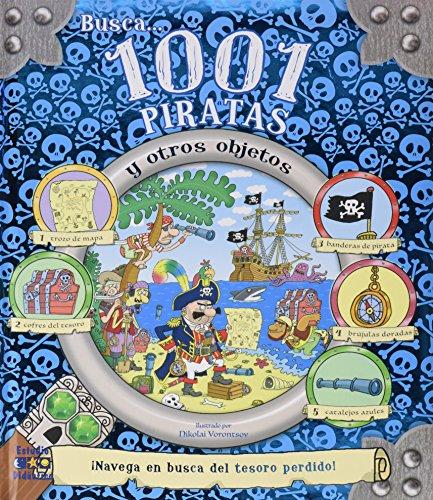 BUSCA 1001 PIRATAS Y OTROS OBJETOS (Busca y encuentra)