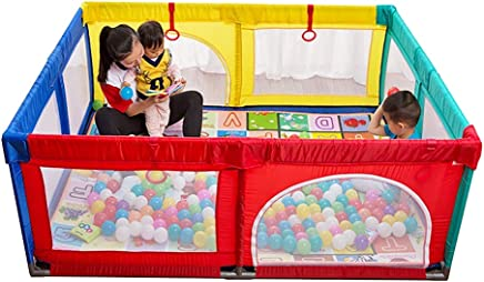 Playpen Extra Large Baby with Mat  Toddler Portable Playard Children s Game Fence  200x250x70cm  Color Style2