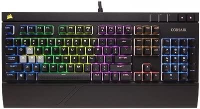 Corsair STRAFE RGB Mechanical Gaming Keyboard Cherry MX Silent (Renewed)