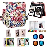 Woodmin Rose 8-in-1 Accessories Bundle for Fujifilm Instax Mini 90 (Camera case/Albums/Frames/Film Stickers/Filters)