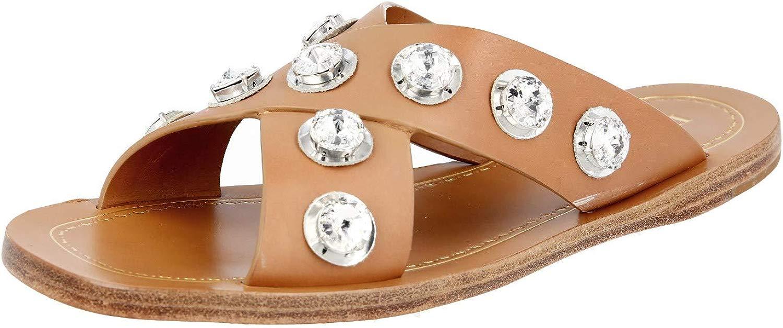 Prada 1XX247 248 F0018 Damen Sandalen aus Leder