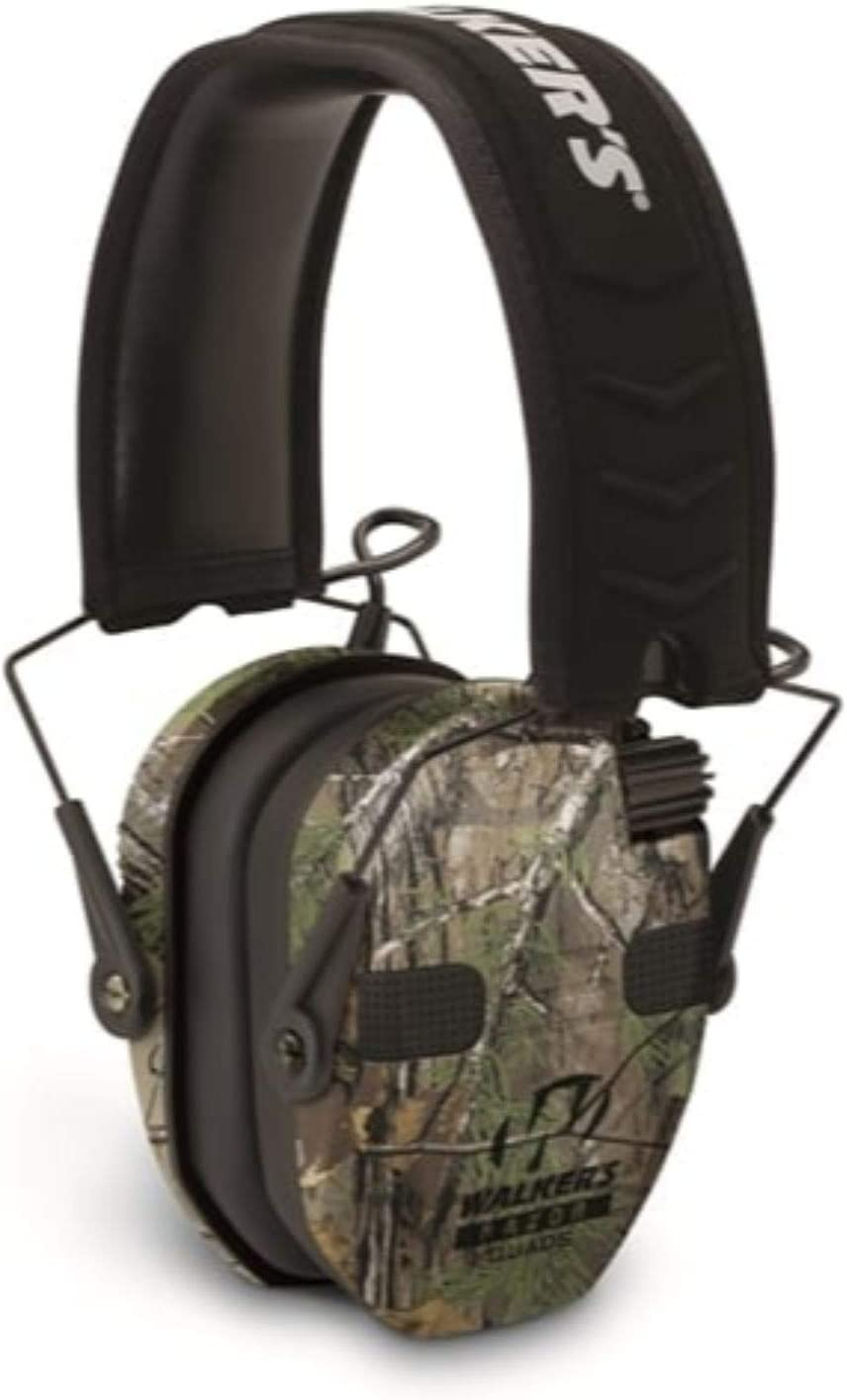 Walker's Razor Slim Complete Free Shipping Electronic Quad 23Db Earmuff Realtree All items in the store C Xtra