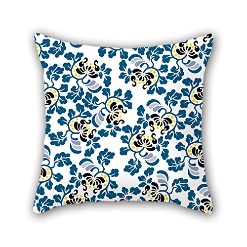 Artistdecor Flower Pillow Covers 16 X 16 Inches / 40 By 40 Cm Best Choice For Boys Floor Pub Girls Dinning Room Living Room With 2 Sides