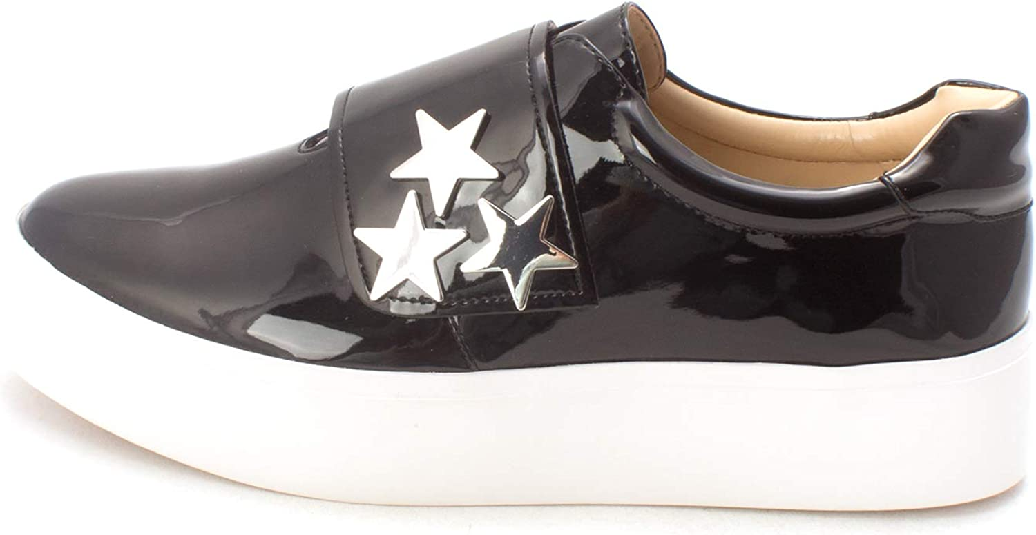 Katy Perry Womens The Anjela Low Top Buckle Fashion Sneakers