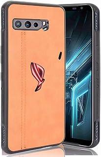 Ranyi for Asus ROG Phone 3 Case, ROG Phone 3 Strix Case, Retro Design PU Leather Flip Case Shock Absorbing Full Body Prote...