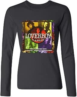 YLINTS Women's Loverboy Classics Long Sleeve T-Shirt