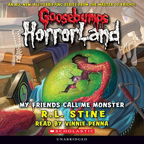 Goosebumps HorrorLand, Book 7 audiobook cover art