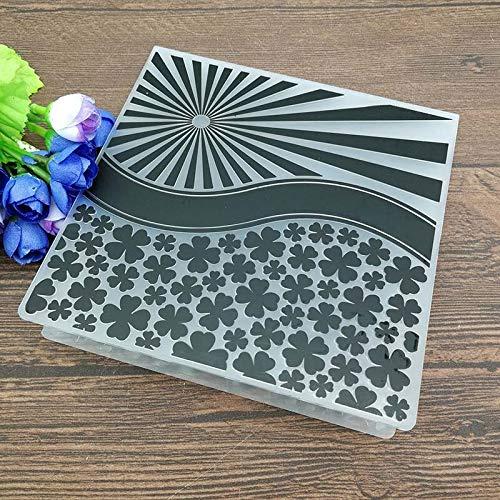 Merry Christmas Embossing Folder Plastic Card Making Stamps Scrapbooking Paper Craft Supplies Folders Album DIY - Y55