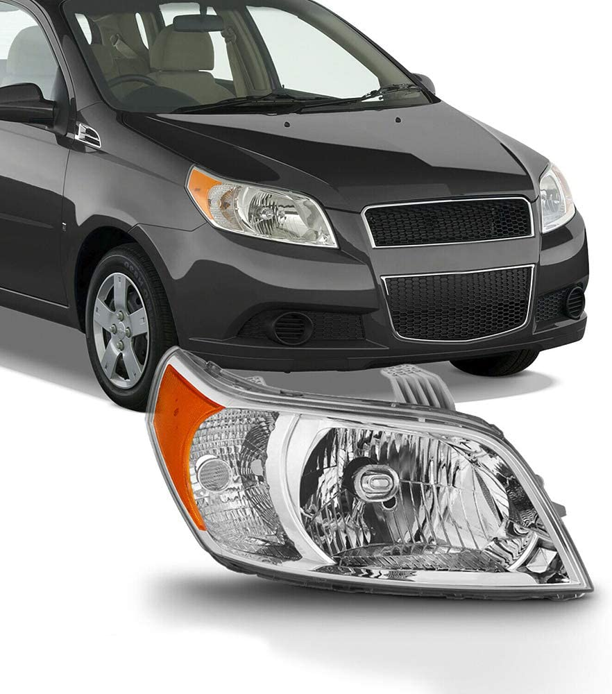 Al sold out. NEW Headlights Headlamps Assembly with Aveo Compatible 2009-2011 Popular
