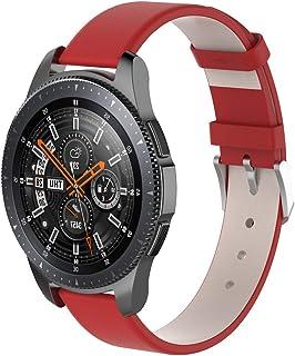 Watch Band,Cinhent Leather Wrist Straps Bracelet for Samsung Galaxy Watch 42mm