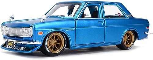 IVNGRI-Modèle de Voiture Datsun 510 Alliage modèle de Voiture Simulation Moulage en Alliage Cadeau Statique modèle Enfants Jouet Voiture Cadeau, échelle 1 24