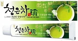 2080 ChungunTea Herbal Tea Toothpaste Dental Clinic by Korean Oral Care 4.58 Oz/130 grms x 3