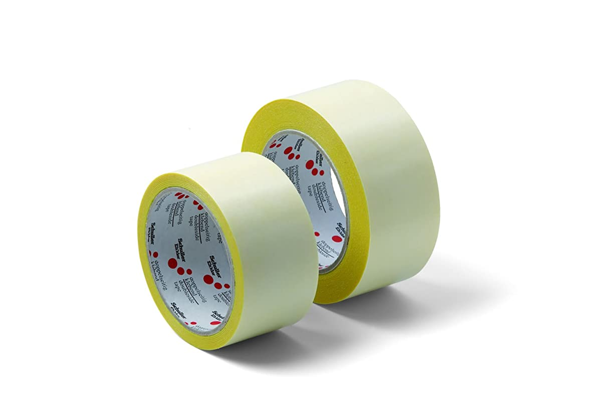 Schuller Double-Sided Tape Pro with for Twin Tape 50?mm x 25?m 1?Roll