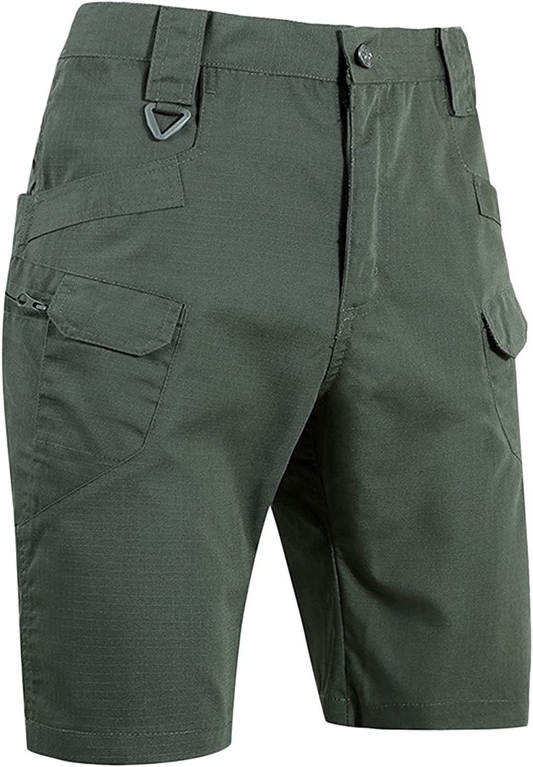 Men's Shorts Cargo Waterproof and Scratch-Resistant Multi Pocket Pocket Tooling Assault Casual Style Street Fashion Pants