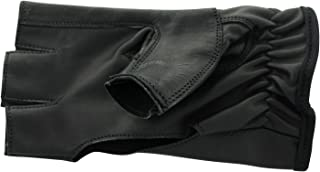 ALLNESS INC Genuine Leather Four Finger Tactical Finger Less Archery Shooting Glove