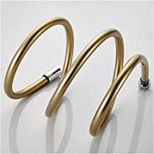 JIAN Hoge kwaliteit 1,5 m PVC Flexibele doucheslang Badkamer Douche Set Accessoires Pijpen Exquisite (Color : GOLDEN)