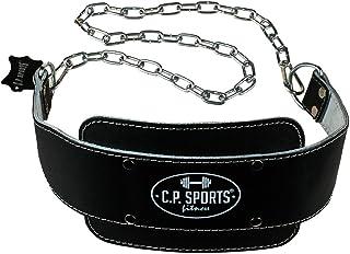 comprar comparacion C.P. Sports 38756 - Cinturón de Entrenamiento con Cadena (Talla única, 82 cm), Color Negro