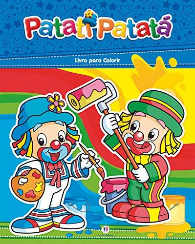 Patati Patatá - Livro para colorir