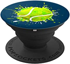 Arty Tennis Ball Design For Boys Or Girls Who Love Tennis - PopSockets Grip and Stand for Phones and Tablets
