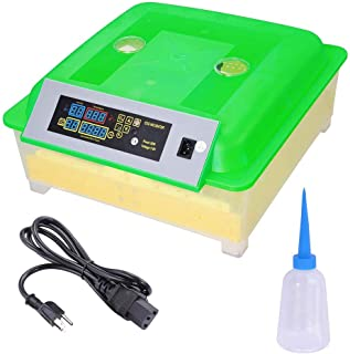 ReaseJoy Digital Automatic 80W 56 Egg Incubator Hatcher Egg Turning Temperature Control Poultry Hatcher Chickens Ducks