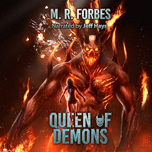 Queen of Demons audiobook cover art