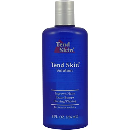 Tend Skin The Skin Care Solution For Unsightly Razor Bumps, Ingrown Hair And Razor Burns, 8 Fl Oz Bottle