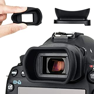 Kiwifotos - Ocular para Canon EOS 5D Mark IV 5D Mark III 5DS 5DS R 1D X Mark II 1D X 1Ds Mark III 1D Mark IV 1D Mark III 7D Mark II 7D Viewfinder sustituye a Canon EG Eye Cup