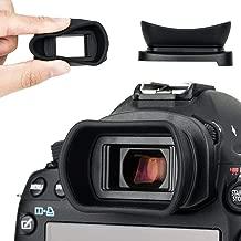 Kiwifotos - Ocular para Canon EOS 5D Mark IV, 5D Mark III, 5DS, 5DS R, 1D X Mark II, 1D X, 1Ds Mark III, 1D Mark IV, 1D Mark III, 7D Mark II, 7D Viewfinder sustituye a Canon EG Eye Cup