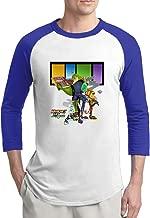 Ratchet & Clank All 4 One Mens Cute 100% Cotton 3/4 Sleeve Athletic Baseball Raglan Sleeves T-Shirt