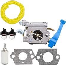 Leopop 545081811 Carburetor for Husqvarna 125B 125BX 125BVX Leaf Blower C1Q-W37 590460102 Carb with Primer Bulb Fuel Line Filter Tune Up Kit