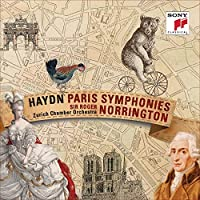 Haydn: The Paris Symphonies by NORRINGTON / ZURICH CHAMBER ORCH