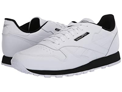 Reebok Lifestyle Classic Leather MU (White/Black/Silver Metallic) Men